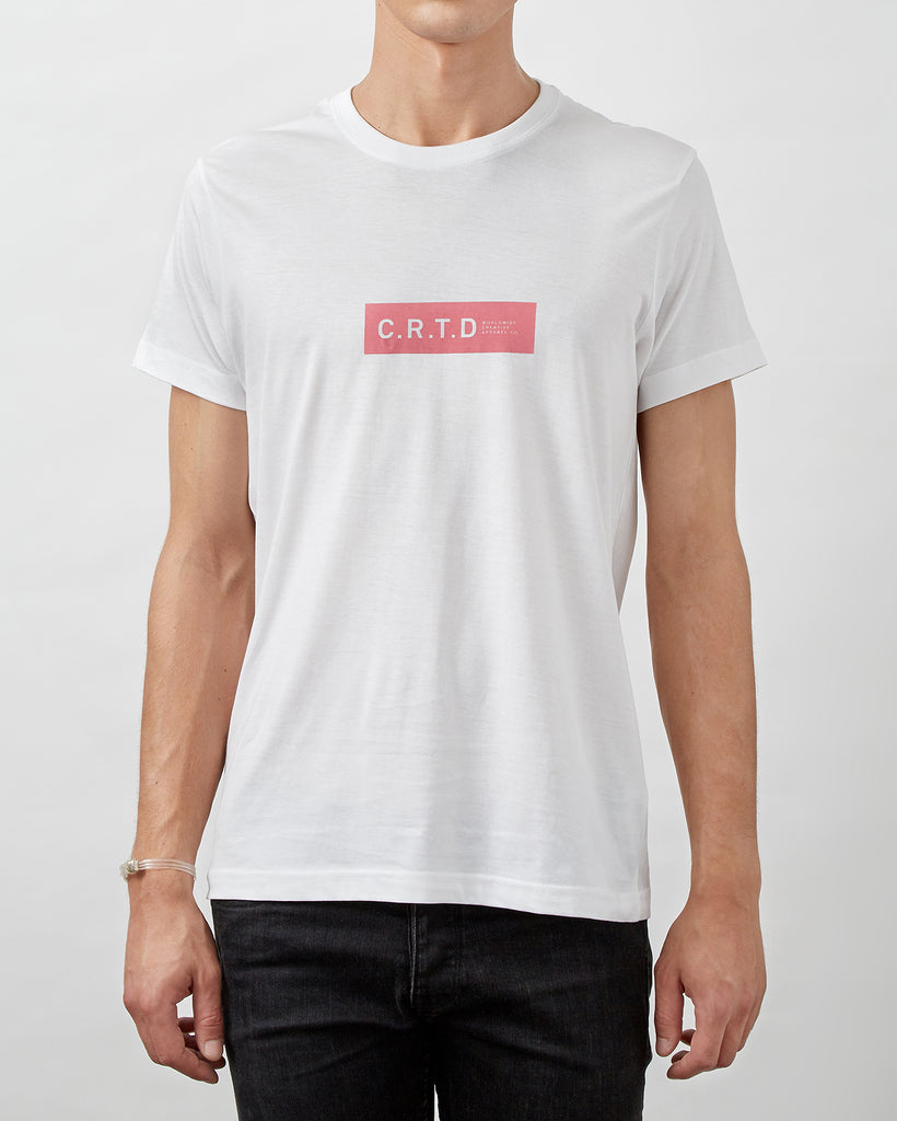 C.R.T.D MERCH PINK T-SHIRT