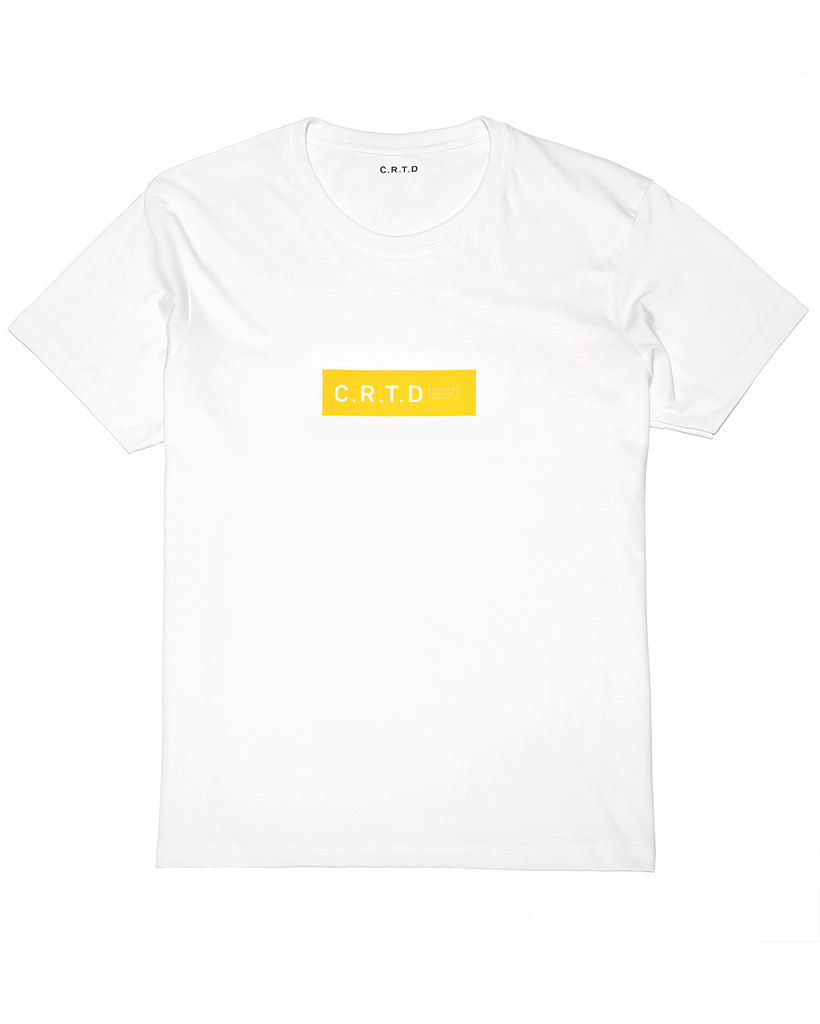 C.R.T.D MERCH YELLOW T-SHIRT