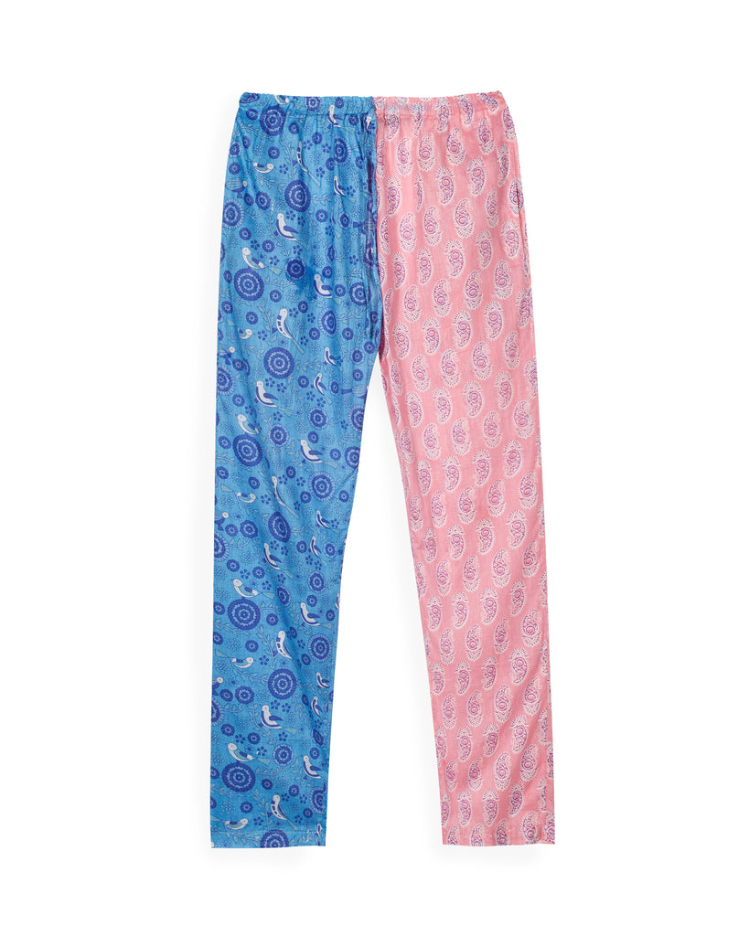 LUHYA PANTS IN BLUE AND PINK