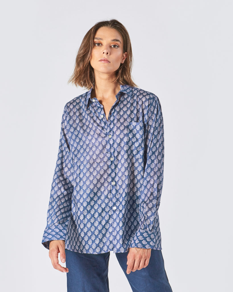 KIMANA SHIRT IN DARK BLUE