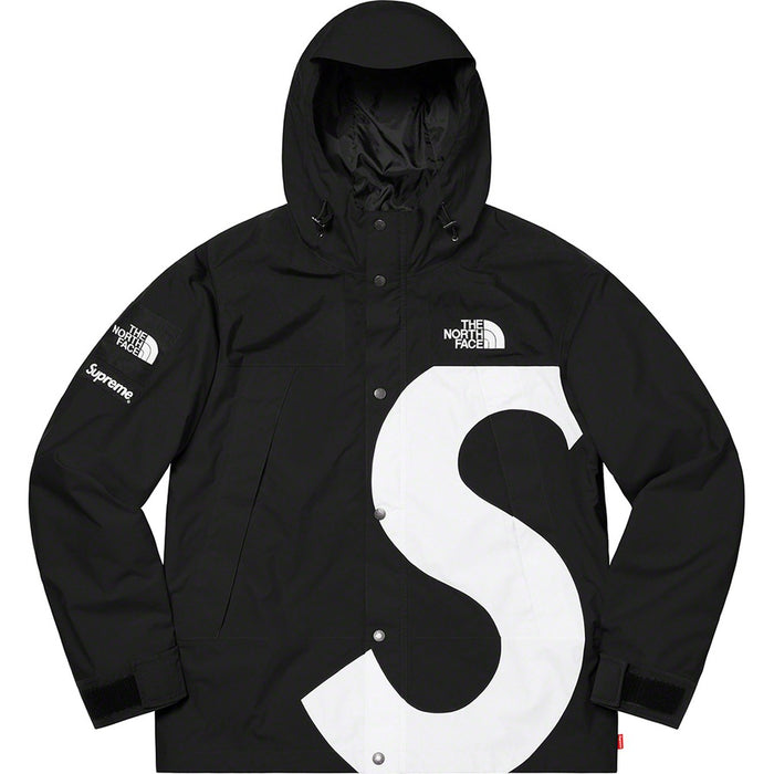Supreme FW20 Black S Logo North Face Mountain Parka