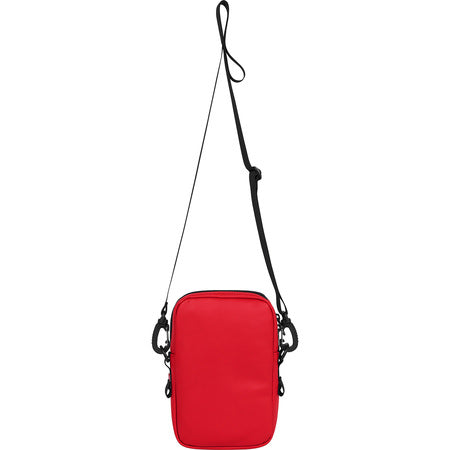 Supreme FW18 Red Leather North Face Shoulder Bag