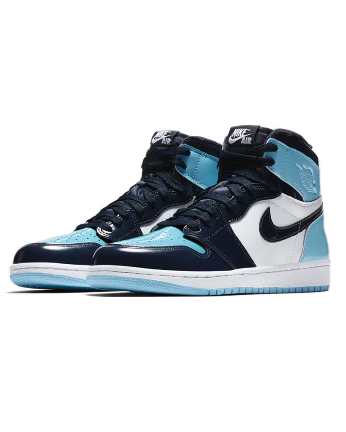 Nike Jordan 1 Retro High 'UNC Patent'