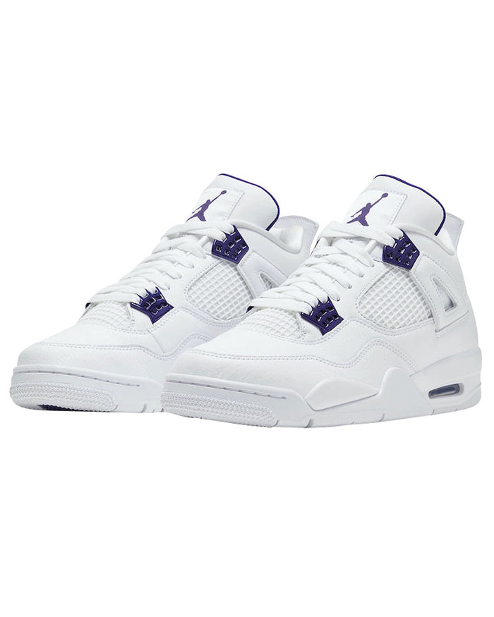 Nike Jordan 4 Retro 'Metallic Purple'