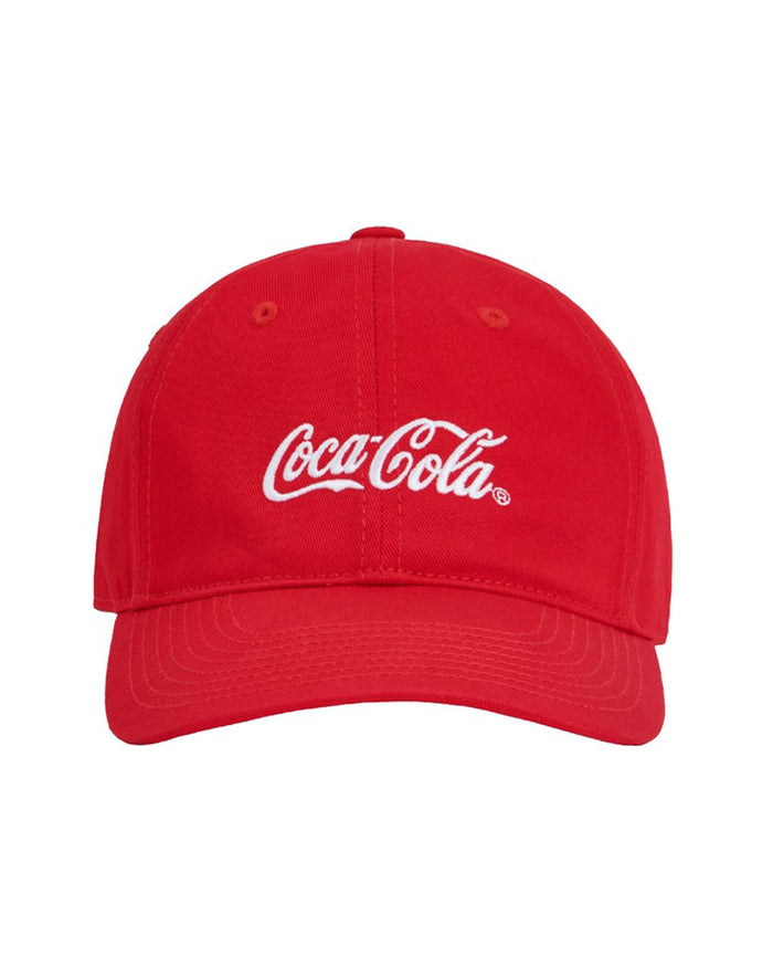 Kith x Coca-Cola Red Coke Logo Hat
