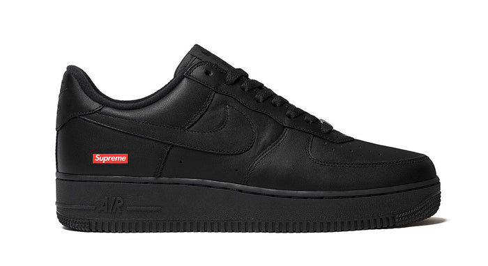 Supreme x Nike Black Air Force 1 Low