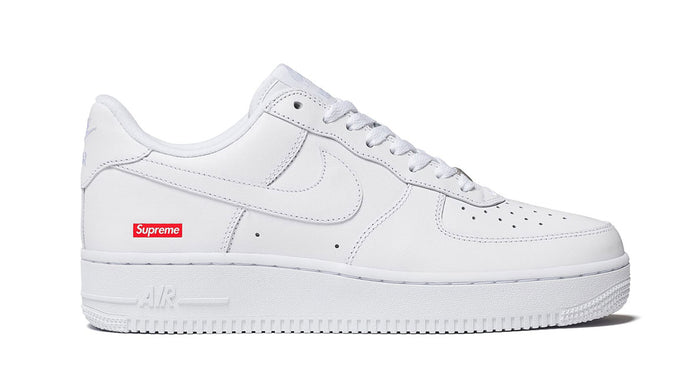 Supreme x Nike White Air Force 1 Low