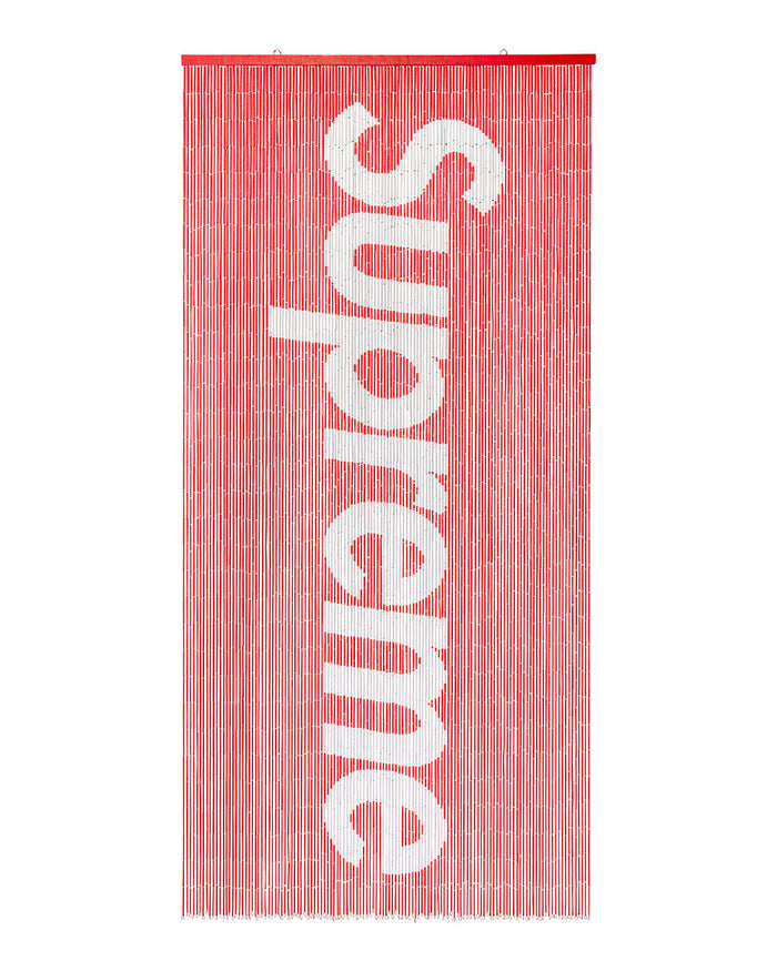 Supreme SS17 Bamboo Beaded Curtain