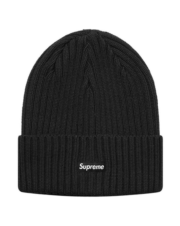 Supreme SS18 Black Overdyed Beanie