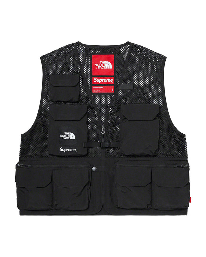 Supreme SS20 Black North Face Cargo Vest