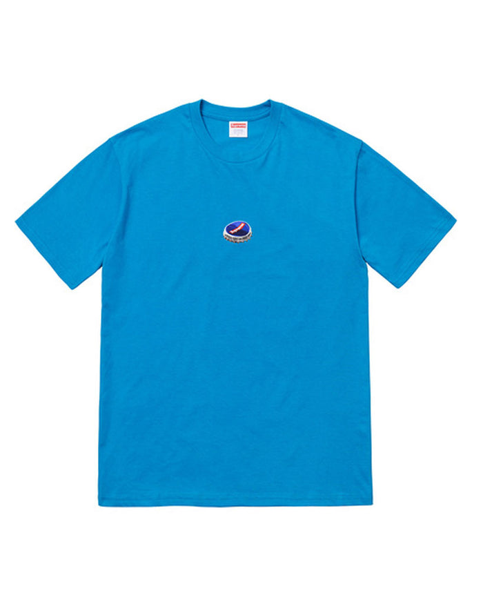 Supreme FW18 Blue Bottle Cap T-Shirt