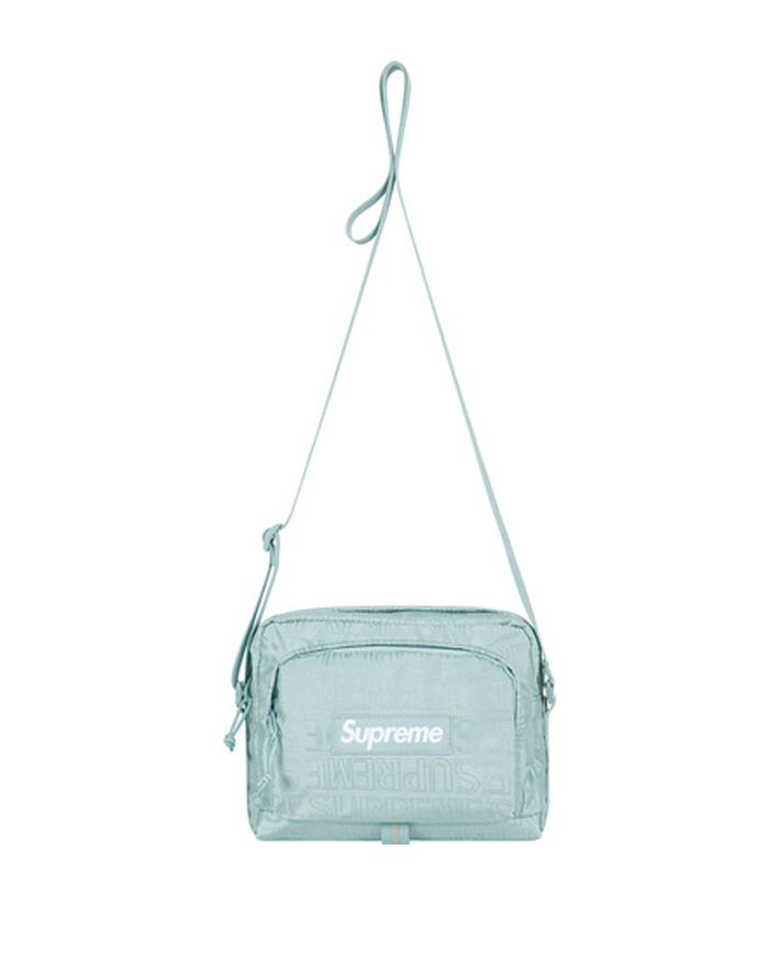 Supreme SS19 Blue Shoulder Bag