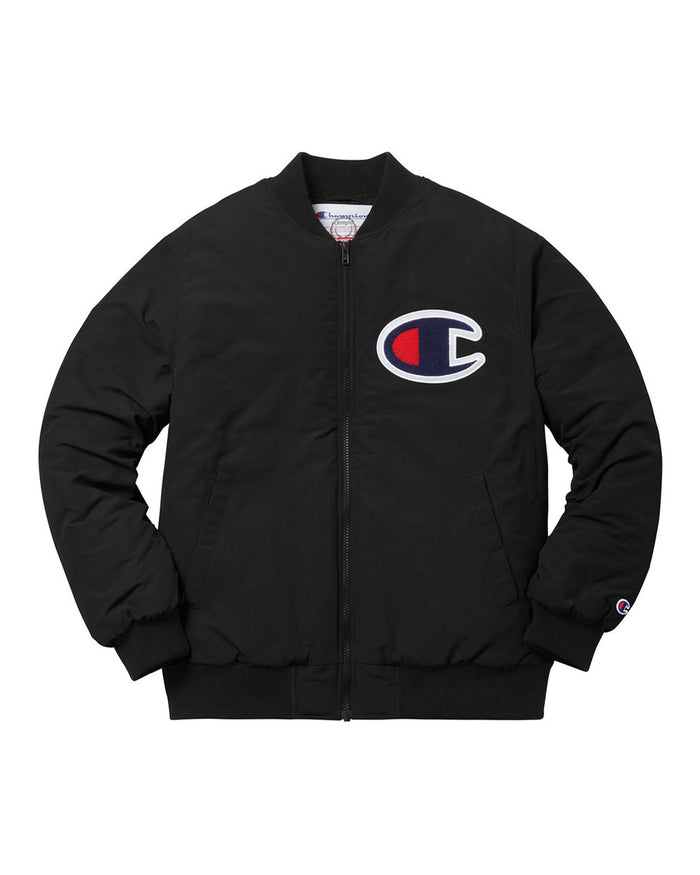 Supreme FW17 Black Champion Jacket