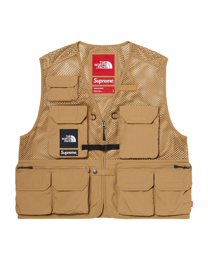 Supreme SS20 Gold North Face Cargo Vest