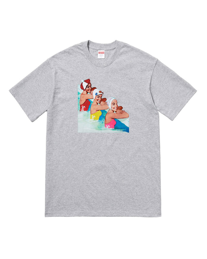 Supreme SS18 Grey Swimmers T-Shirt