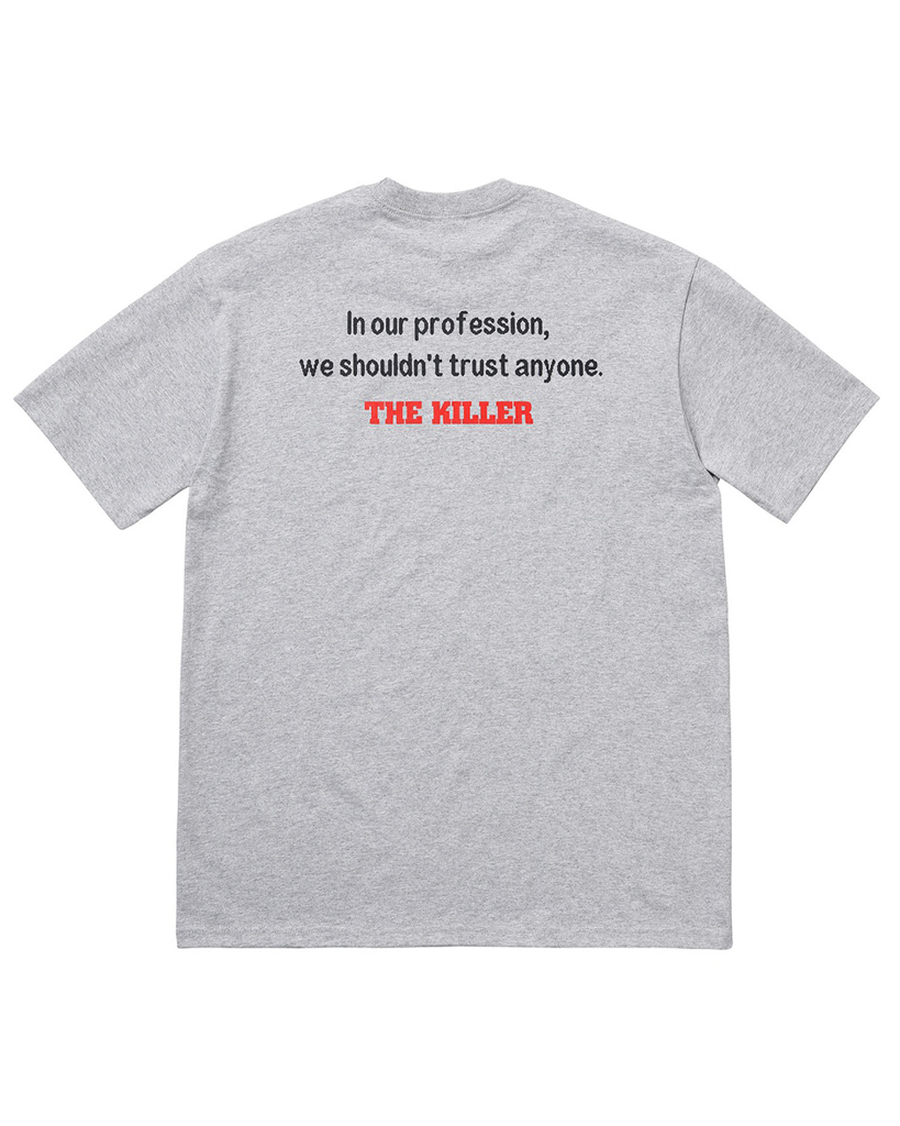 Supreme FW18 Grey The Killer Trust T-Shirt