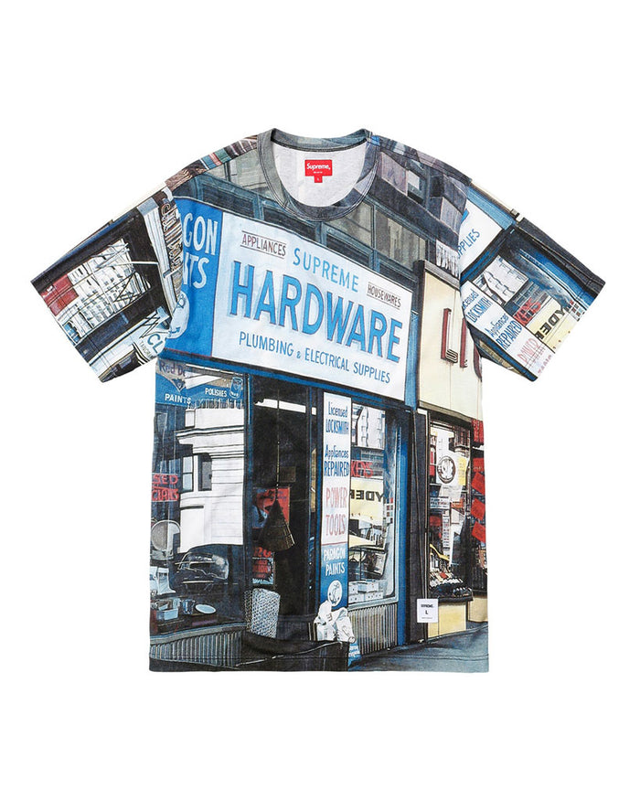 Supreme SS18 Hardware T-Shirt