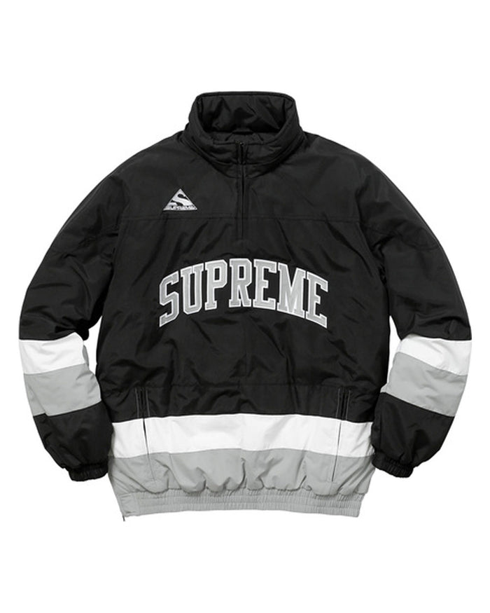 Supreme FW17 Black Puffy Hockey Pullover