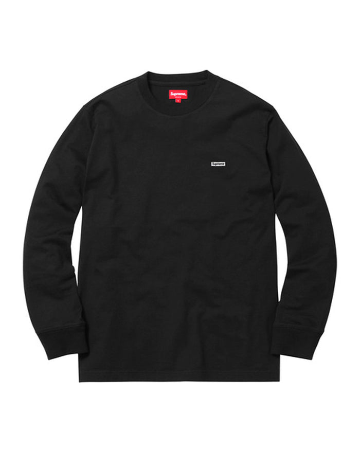 Supreme FW17 Black Metallic Box Logo Long Sleeve