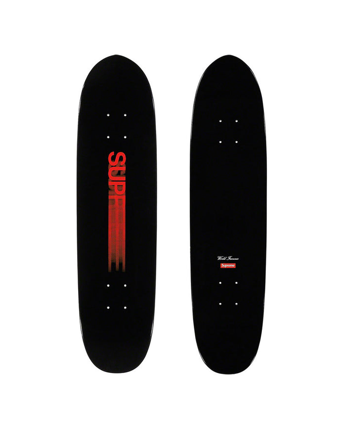 Supreme SS20 Black Motion Logo Cruiser Skateboard