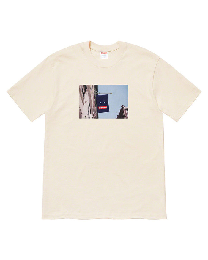 Supreme FW19 Natural Banner T-Shirt