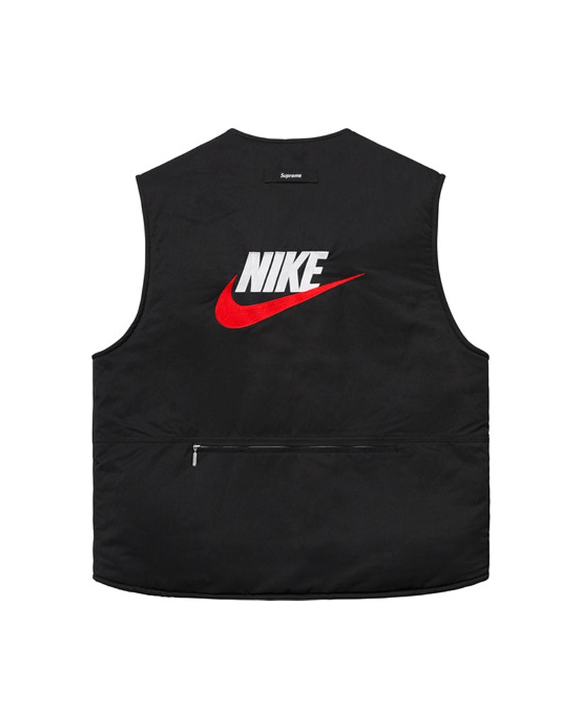 Supreme Nike Black Reversible Vest