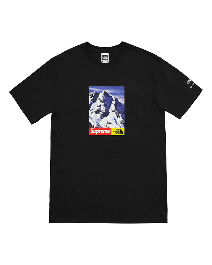 Supreme FW17 Black North Face Mountain T-Shirt