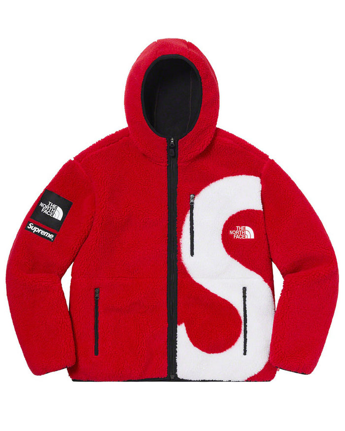 Supreme FW20 Red S Logo North Face Fleece