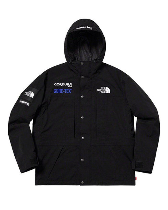 Supreme FW18 Black North Face Expedition Jacket