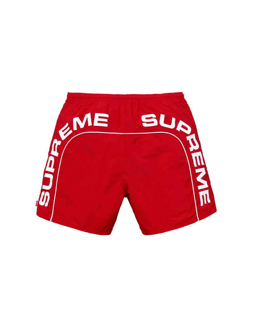 Supreme SS18 Red Arc Logo Water Shorts
