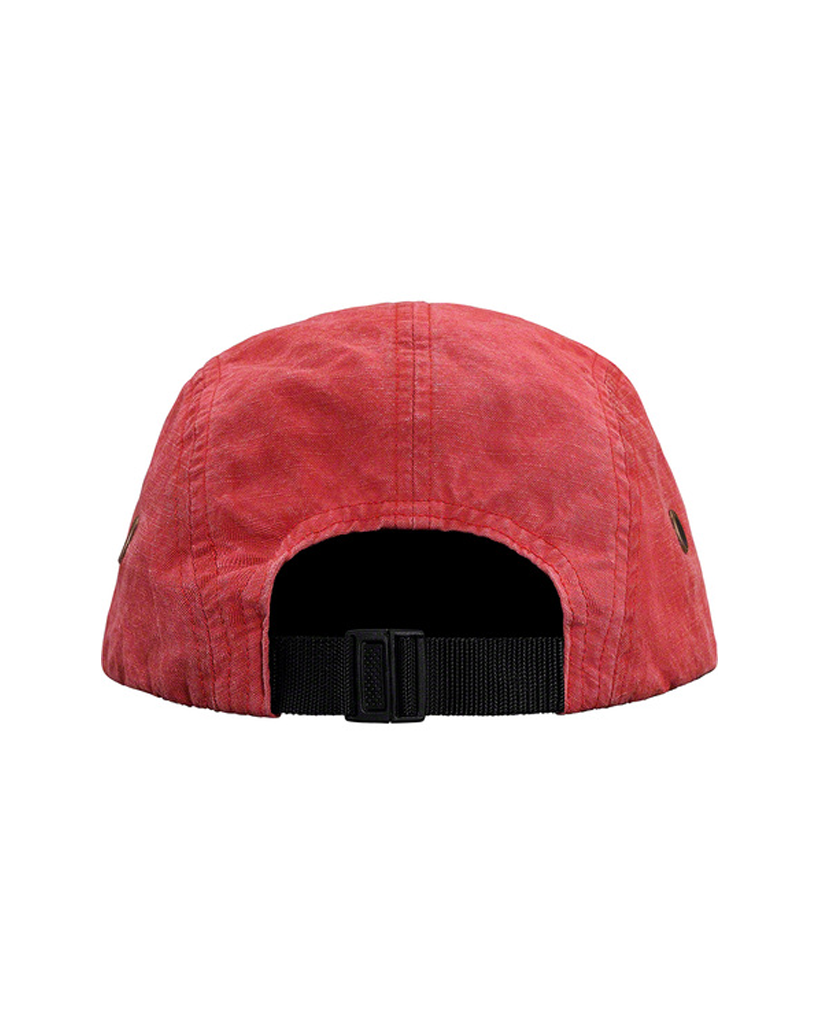 Supreme SS19 Red Washed Linen Camp Hat