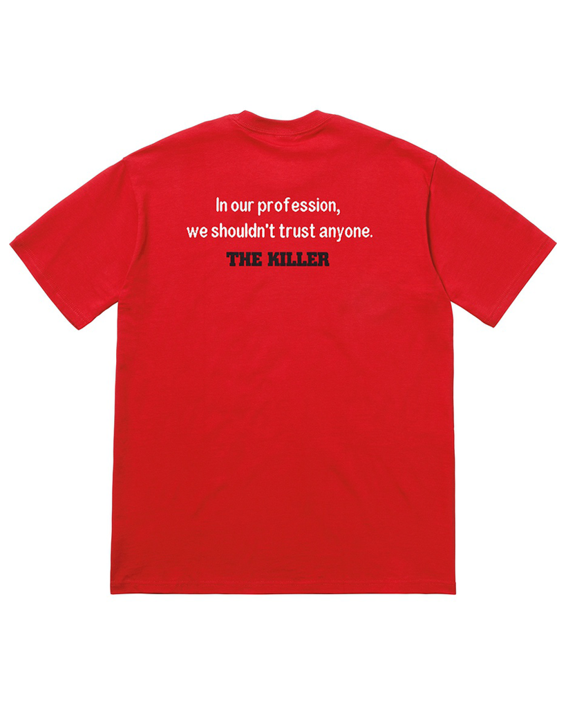 Supreme SS18 Red The Killer Trust T-Shirt