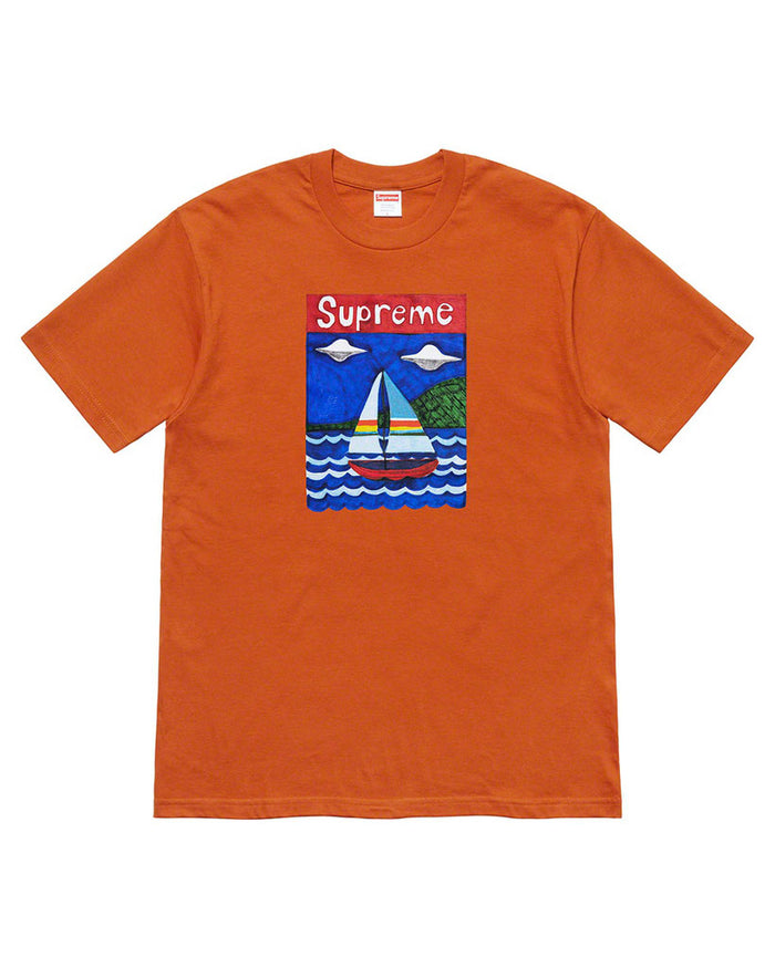 Supreme SS20 Rust Sailboat T-Shirt
