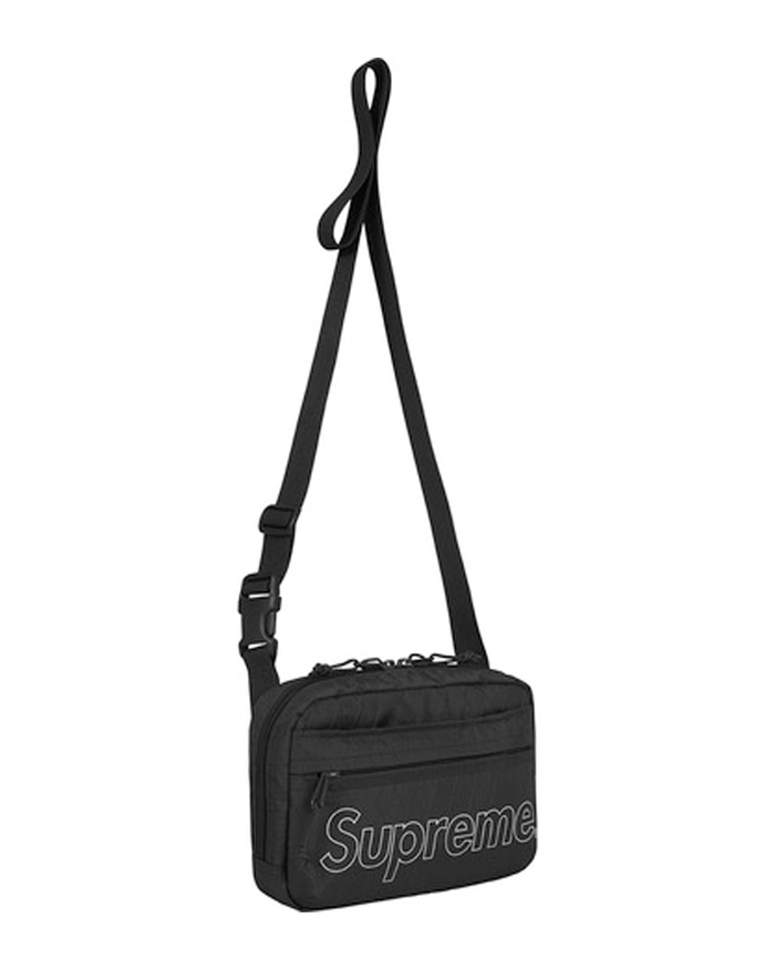 Supreme FW18 Black Shoulder Bag