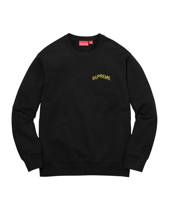 Supreme FW17 Black Step Arc Crewneck
