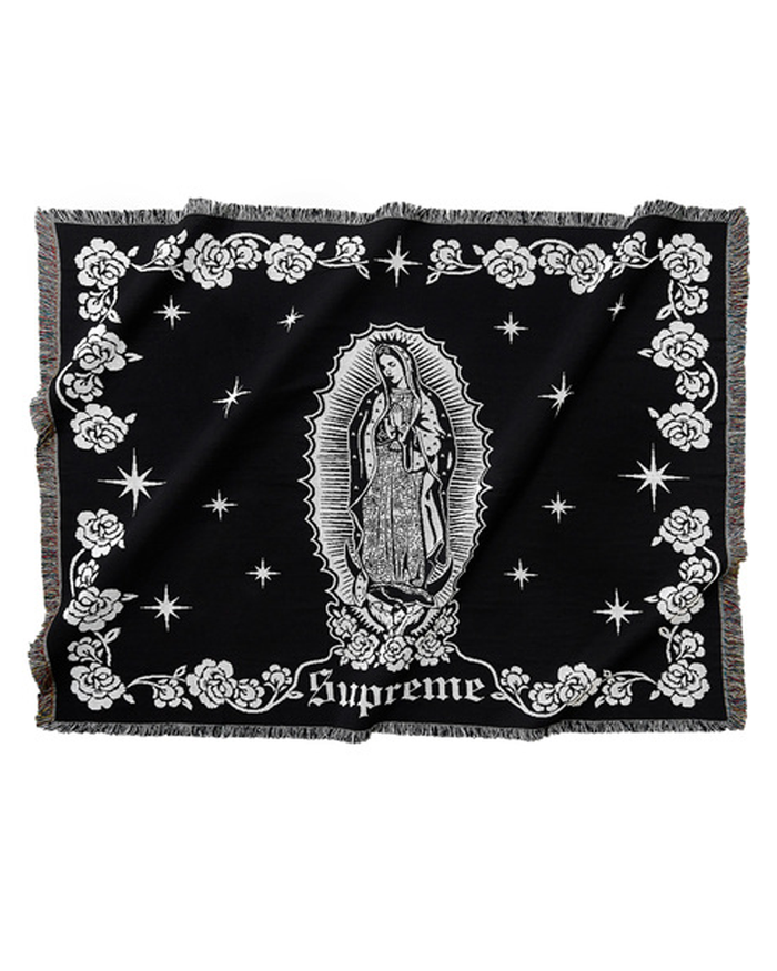 Supreme Black Virgin Mary Blanket