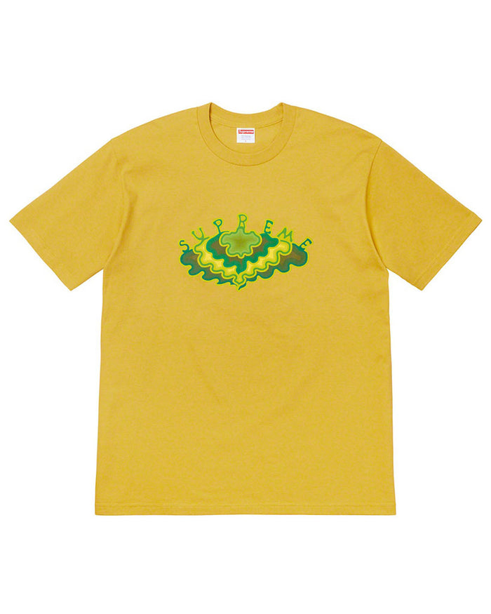 Supreme SS19 Yellow Cloud T-Shirt