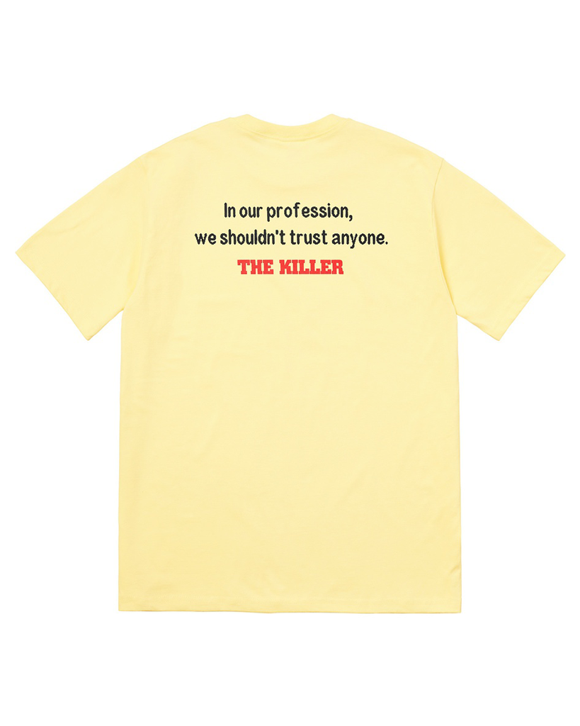 Supreme FW18 Yellow The Killer Trust T-Shirt