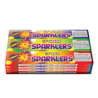 "Sparklers - 10"" Color Bamboo"