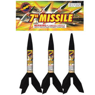 "Missiles - Missile 7"" 3 Pack"