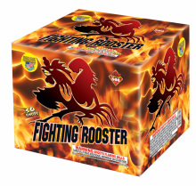 Cakes - Finale - Fighting Rooster
