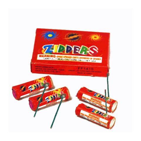 Spinners/Flyers - Zippers