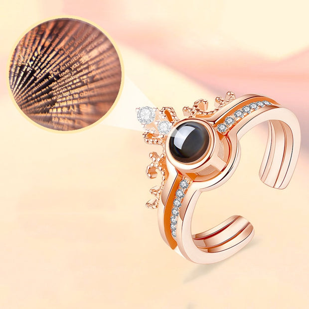 Priceless 100 languages I love you Ring - Necklace (buy 2 get one free) add qty 3 to cart