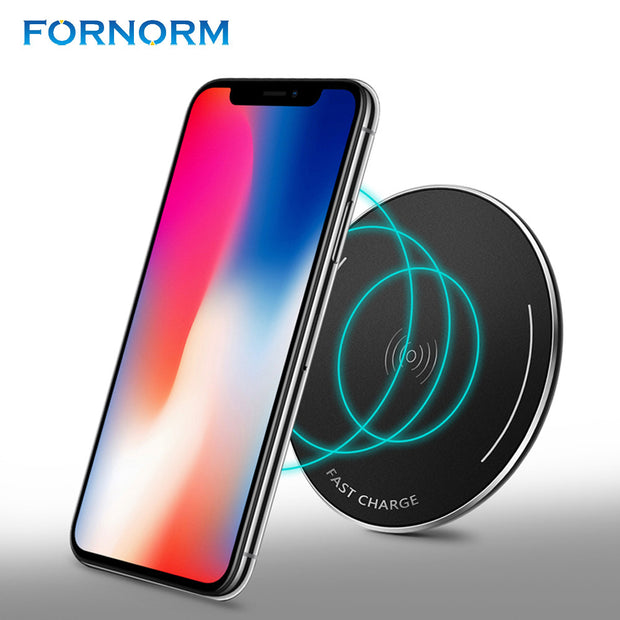 "Mini Wireless ""Super"" Charger For Samsung 7/8 And Iphone 8/X"