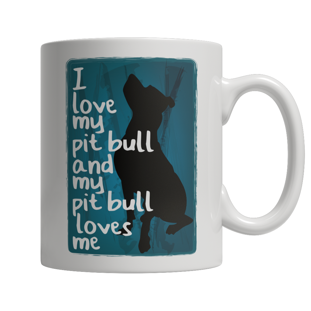 Limited Edition - I Love My PitBull And My PitBull Loves Me