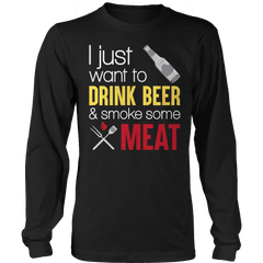 Limited Edition - drink bxer and smoke meat