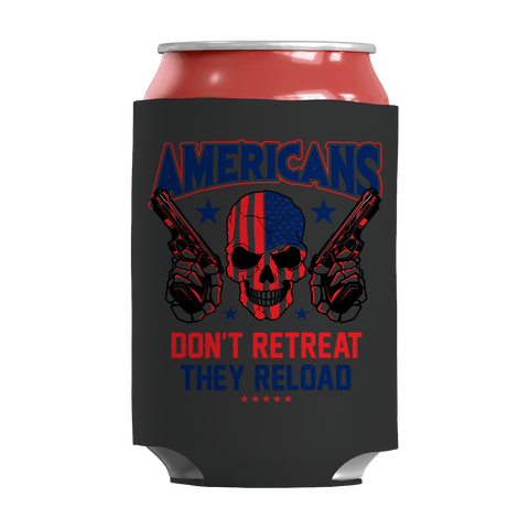 Limited Edition - Americans Don't Retreat They Reload