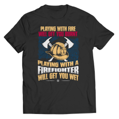 Get Wet Playing With A Firefighter
