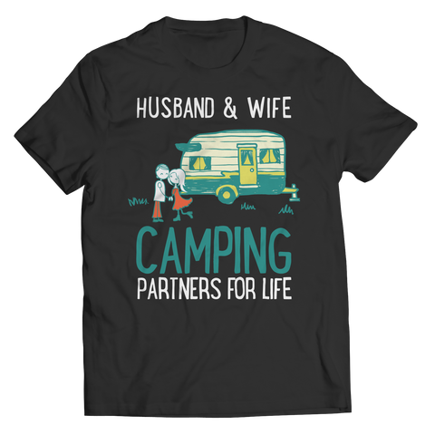 HUSBAND WIFE CAMPING