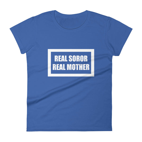 "Zeta Inspired ""Real Mother"": Women's short sleeve t-shirt"